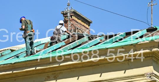 Residential Roof Repairs in Bronx