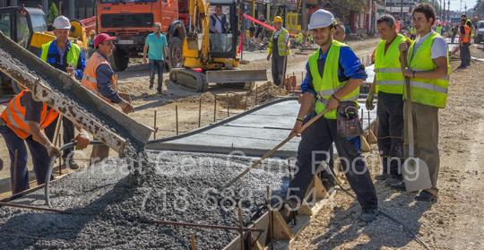 Sidewalk Contractor in Yonkers