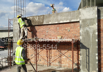 Flat Roof New Beams Installation Contractors in Bronx